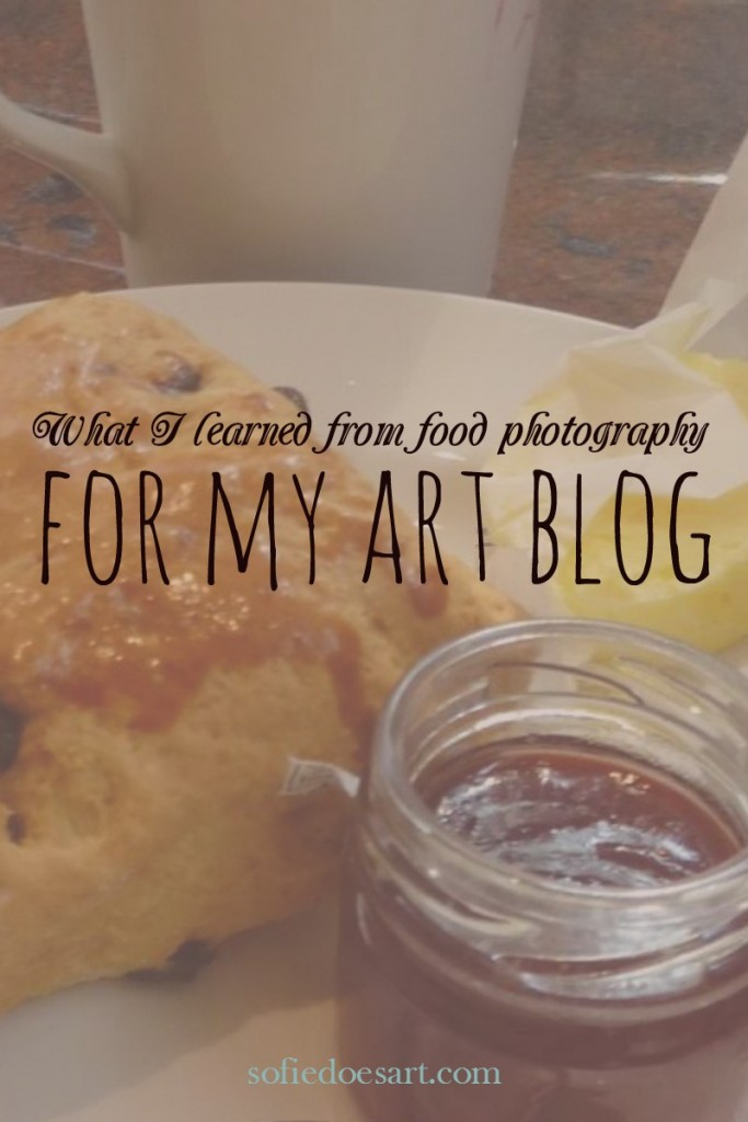 What I learned from food photography for my art blog // sofiedoesart.com
