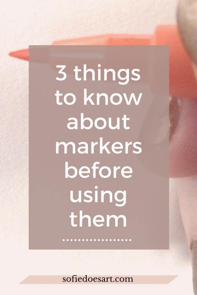 Top things to learn about when you are first starting out with markers. This will make it so much easier to get the results you want!