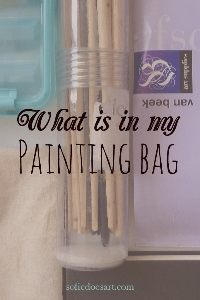 What is in my painting bag