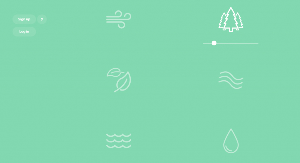 Noisli, a site that enhances productivity and one of my top 3 sites to do so.