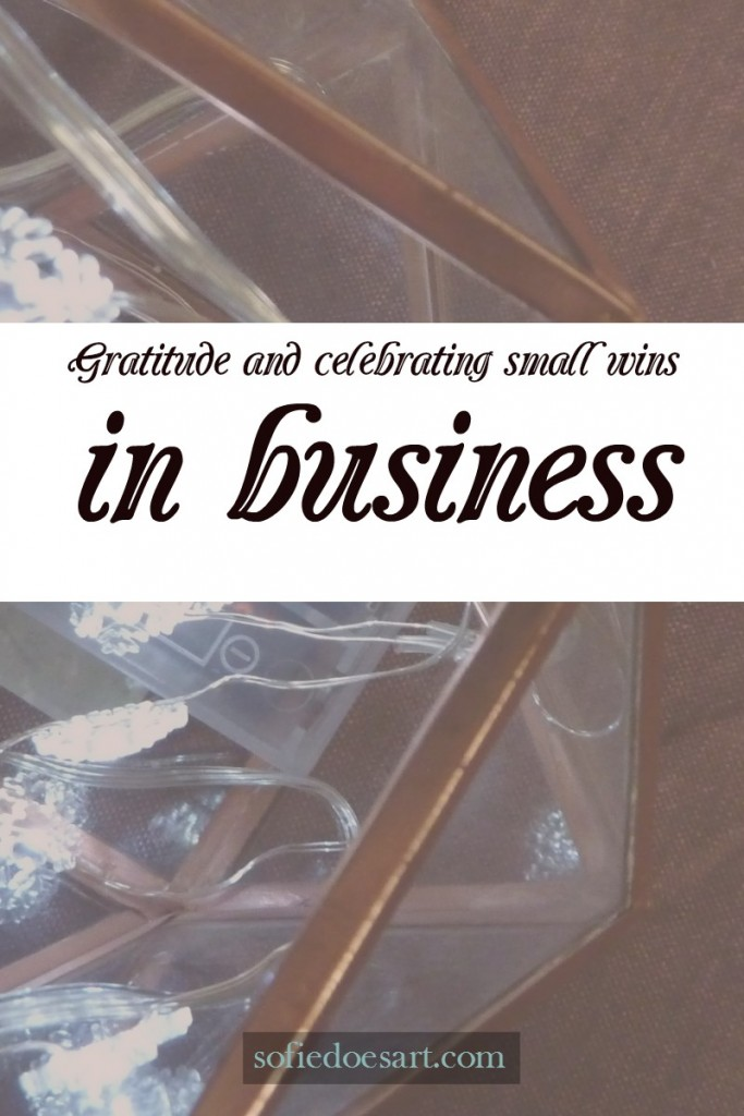 Gratitude and celebrating small wins in business to increase happiness and productivity!