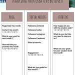 tracking your creative business