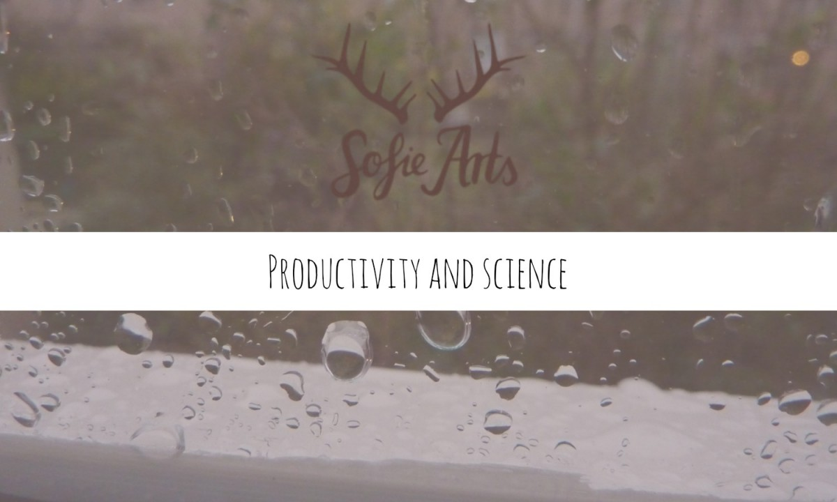 Productivity and science; How does it work?