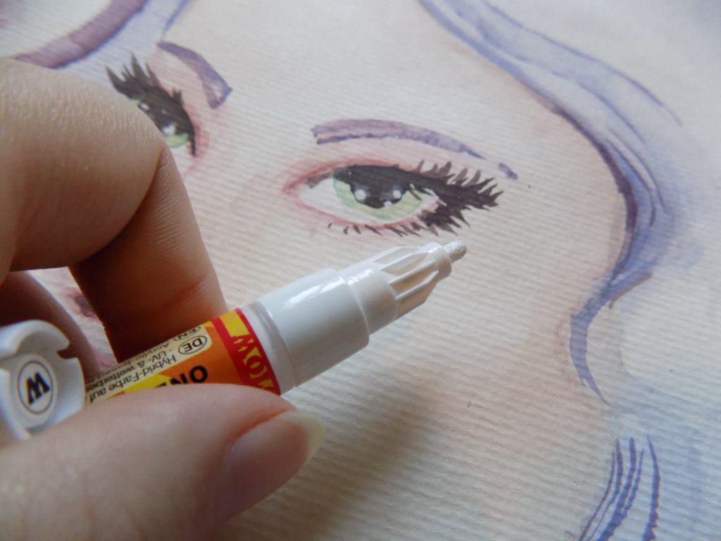 molotow marker white
