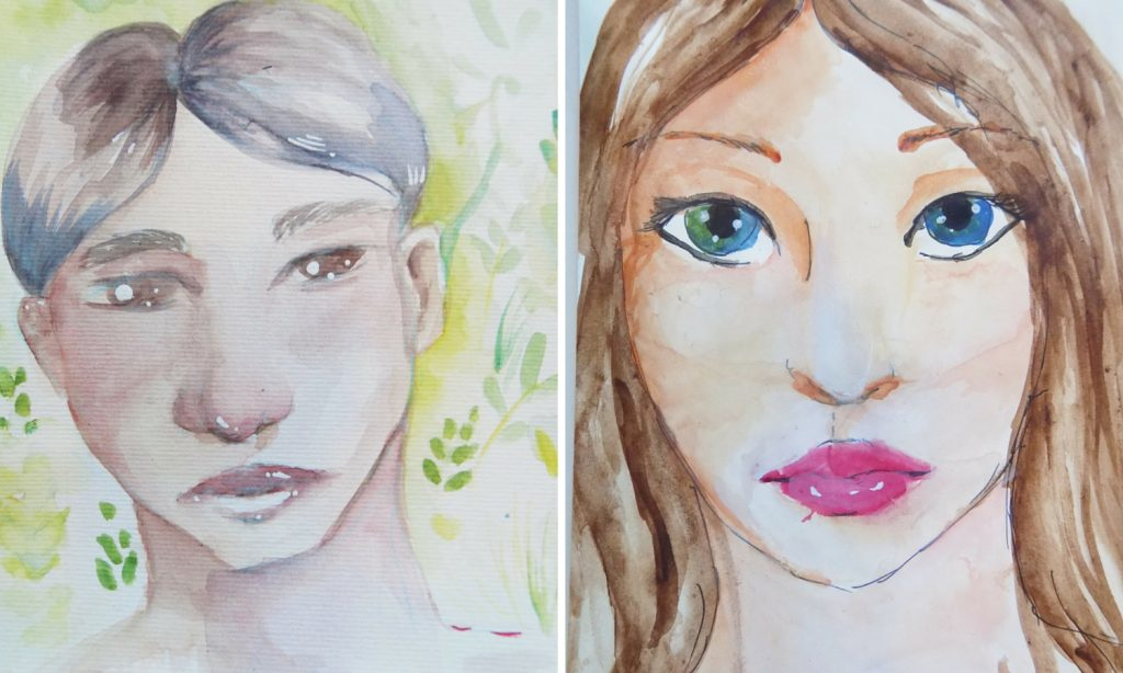 The 3 secrets to my successful watercolour portrait portraits