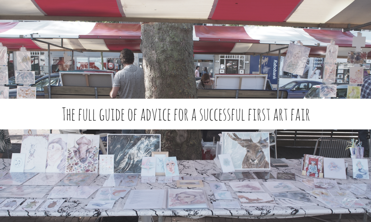 The full guide of advice for a successful first art fair