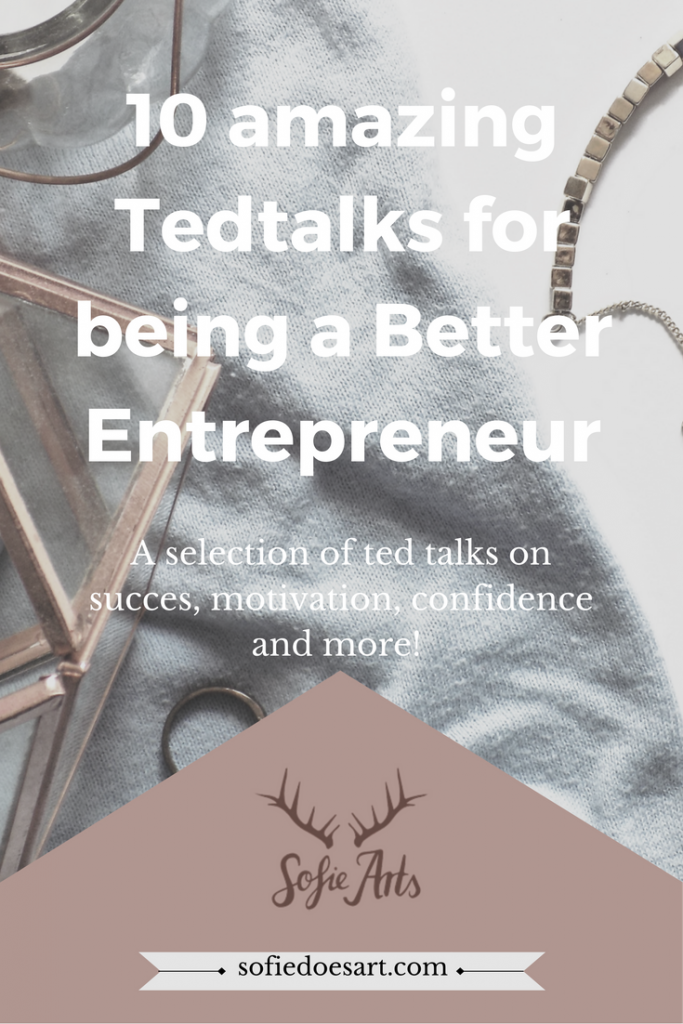 Ted talks about productivity, self-confidence, motivation and more. Keep learning. As a entrepreneur your biggest asset is yourself!