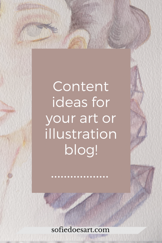 Don't know what to post on your art and illustration blog? Get the list with 10+ prompts to fill up your editorial calendar!