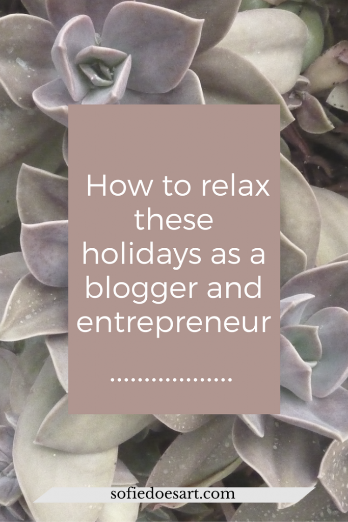What are you doing these holidays to recharge yourself? Get the holiday that actually makes you relax.