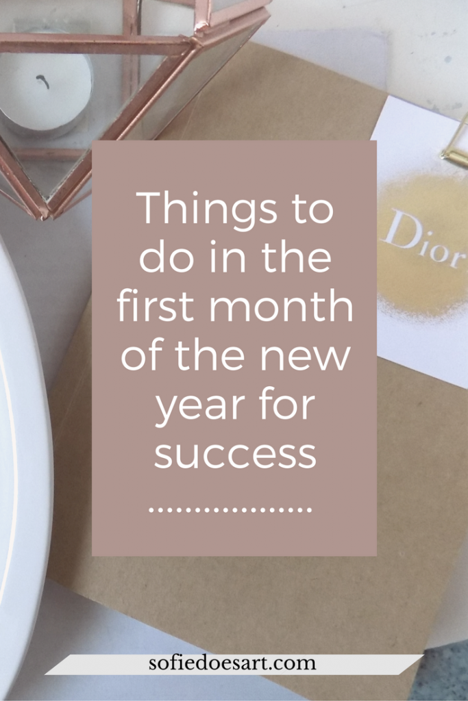 Try these things in the first month of 2017 for more chance of success!