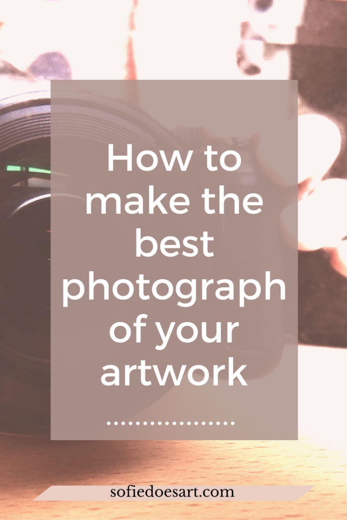 For all those struggling with getting the perfect picture of their artwork. The comple guide to photographing your artwork!